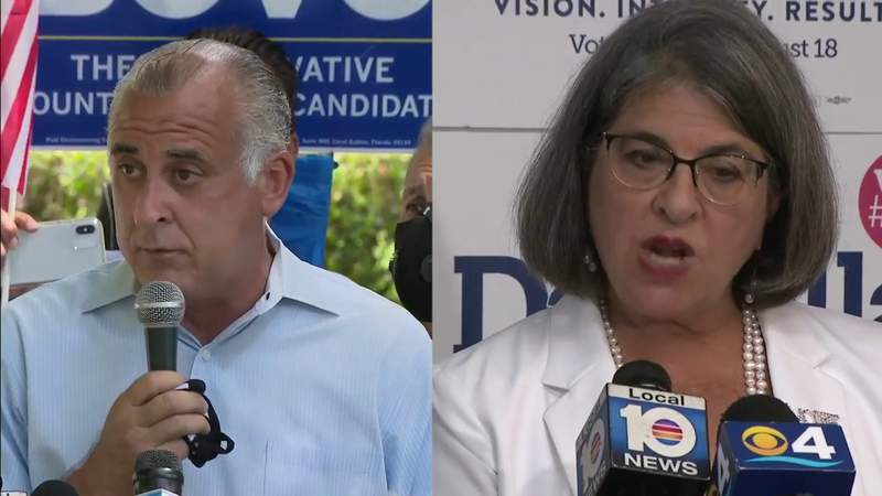 Miami-Dade Mayoral candidates already out in force not even 24 hours after election results