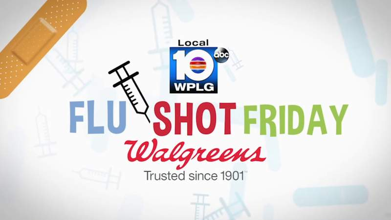Local 10's free Flu Shot Friday is coming up