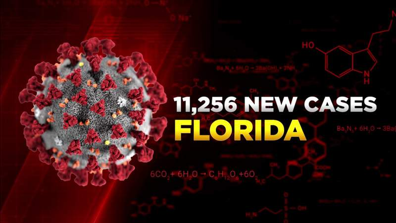 Florida reports another 11,000 COVID-19 cases