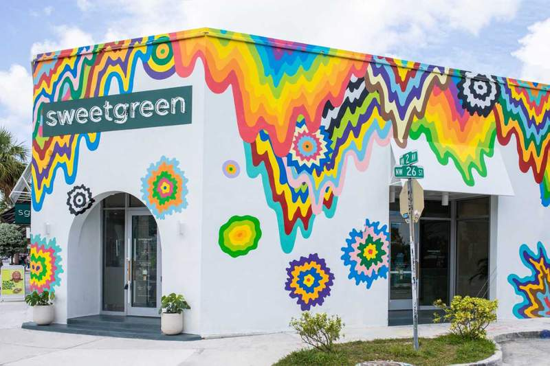 sweetgreen is opening its third shop in Miami in Wynwood.