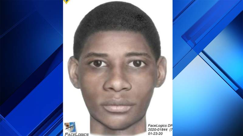 Coconut Creek police released this sketch of a man they said robbed a 17-year-old boy.