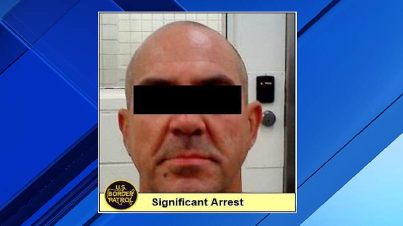 U.S. Border Patrol agents say this man was taken into custody Sept. 25 for entering the U.S. illegally.