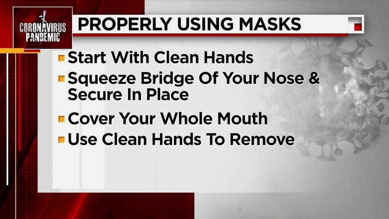 Here is how to properly use face mask and gloves during coronavirus pandemic