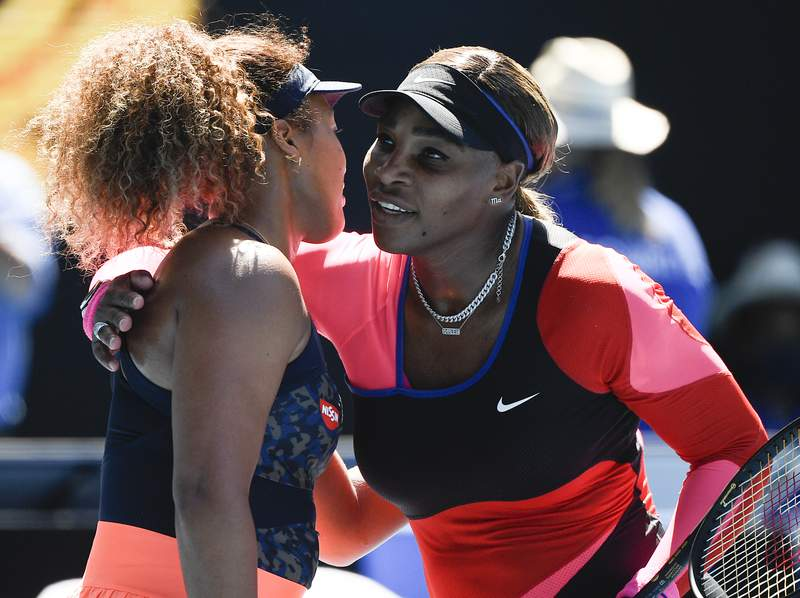 Naomi Osaka and Serena Williams are lined up to compete in the Miami Open at Hard Rock Stadium.