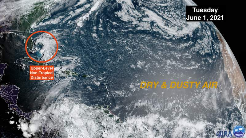 Tracking the tropics as hurricane season officially begins.
