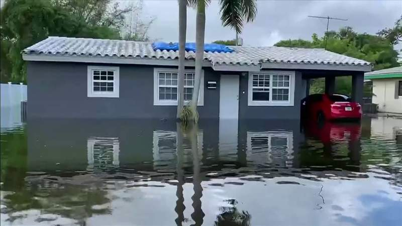 Flooding continues in parts of Broward County after Eta