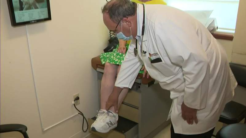 A routine check of overall circulation, including blood flow to the feet, can help detect a heart rhythm disorder.