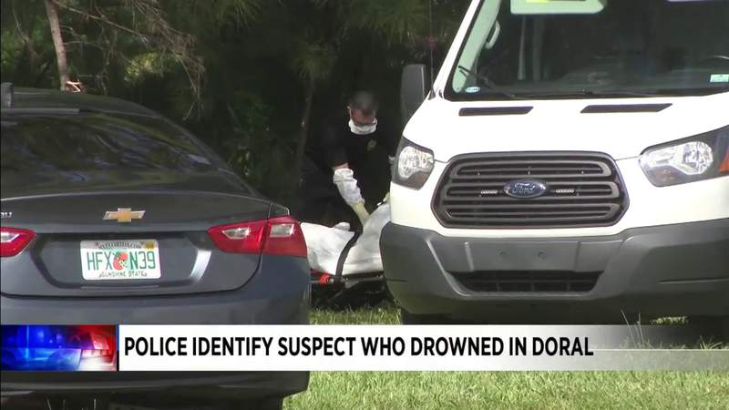 Suspect who drowned after fleeing police identified