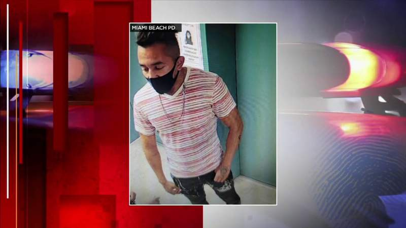 Cops searching for man who attacked elderly woman in Miami Beach