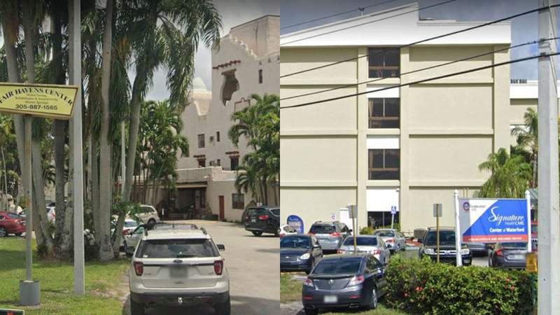 Fair Havens Center in Miami Springs and Signature Healthcare Center Of Waterford in Hialeah are the state's long-term care facilities with the most deaths attributed to the coronavirus.