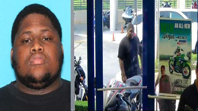 Robert Allen, 22, was seen outside a motorcycle dealership in Deerfield Beach shortly before South Florida rapper XXXTentacion was fatally shot.