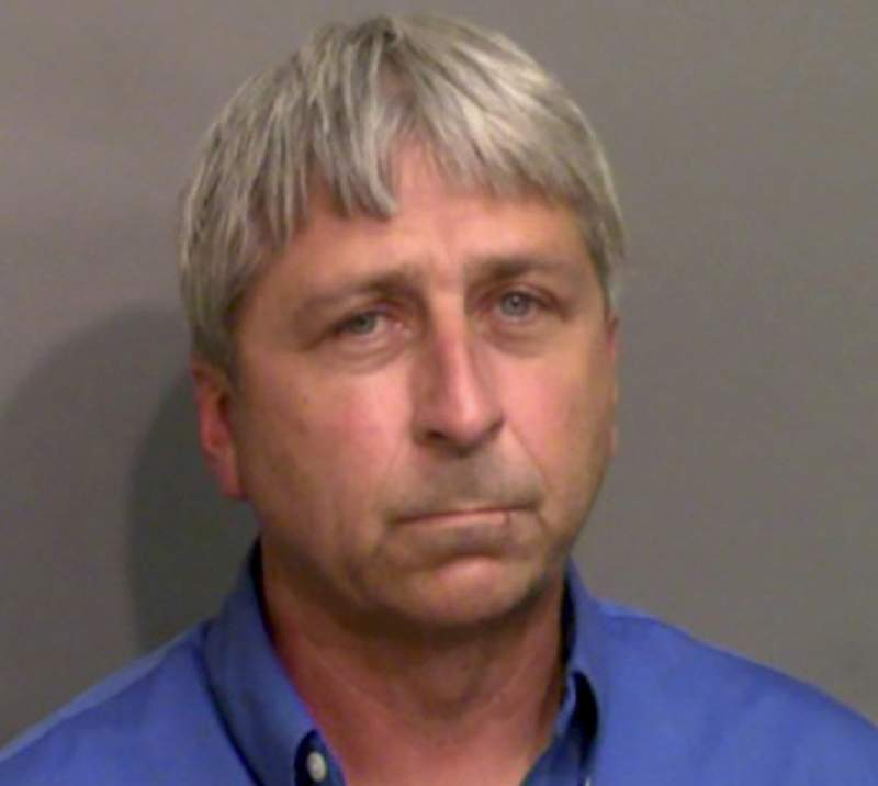 """FILE - This booking photo provided by the Glynn County Sheriff's Office shows William """"Roddie"""" Bryan Jr., who was jailed Thursday, May 21, 2020, in Brunswick, Ga., on charges of felony murder and attempted false imprisonment. A judge has denied bond to Bryanm one of three white men charged with murder in the slaying of Ahmaud Arbery while the Black man was running in a neighborhood near Georgias coast. (Glynn County Sheriff's Office via AP)"""