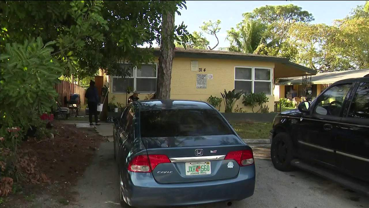 A man was fatally shot Feb. 9, 2020, outside this home in Fort Lauderdale.