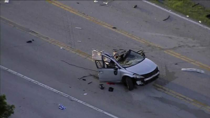 Authorities identify people involved in fatal crash in Pompano Beach