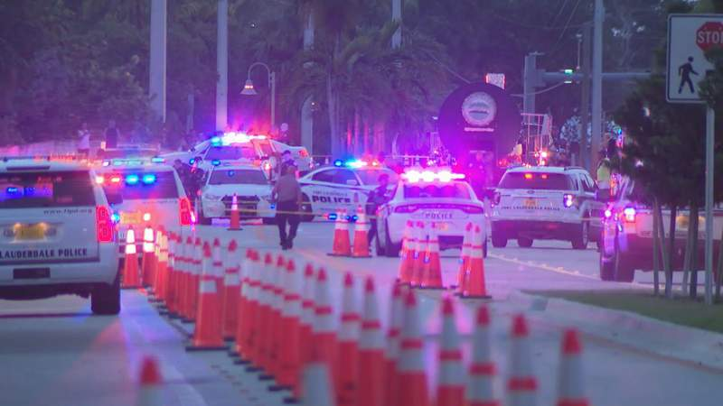 Two people were hit by a truck just prior to a pride parade in Wilton Manors.