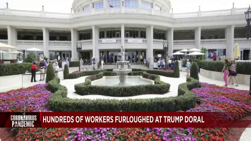 Trump National Doral Miami cuts 560 workers