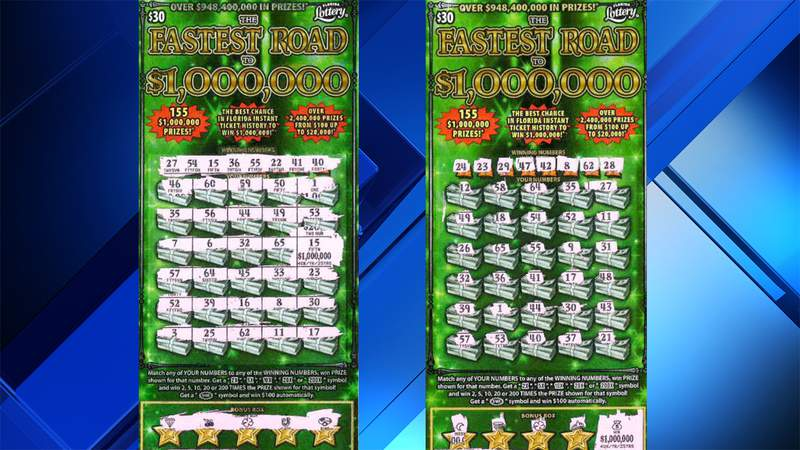 Two million-dollar winners from Florida Lottery's Fastest Road to $1,000,000 game were recently revealed.