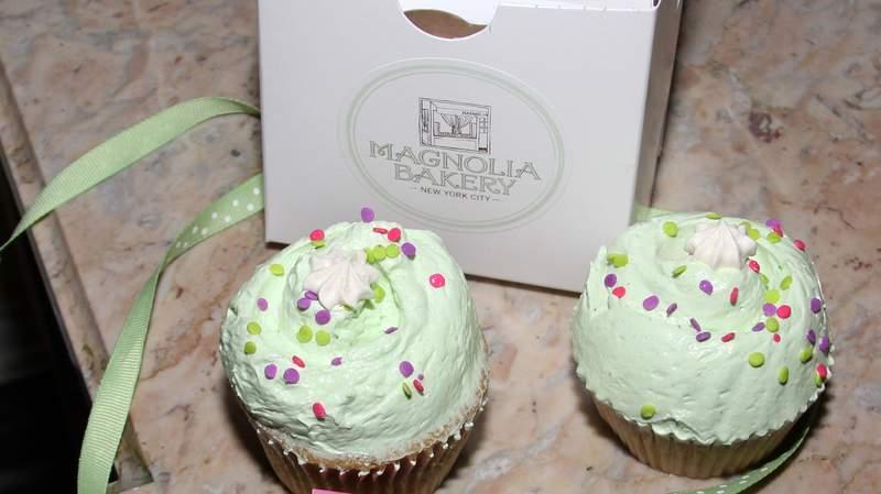 Magnolia Bakery Rockefeller Center in New York City.