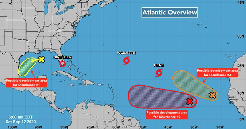 An overview of what's going on in the Atlantic from the National Hurricane Center.