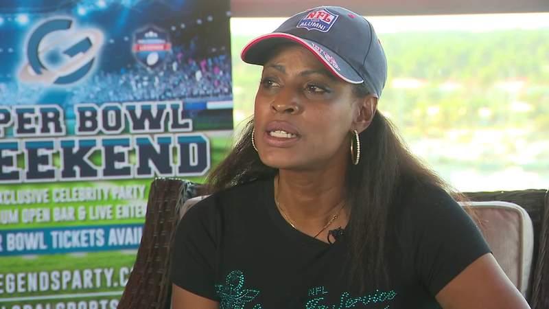 Locals work on raising human trafficking awareness during Super Bowl LIV week