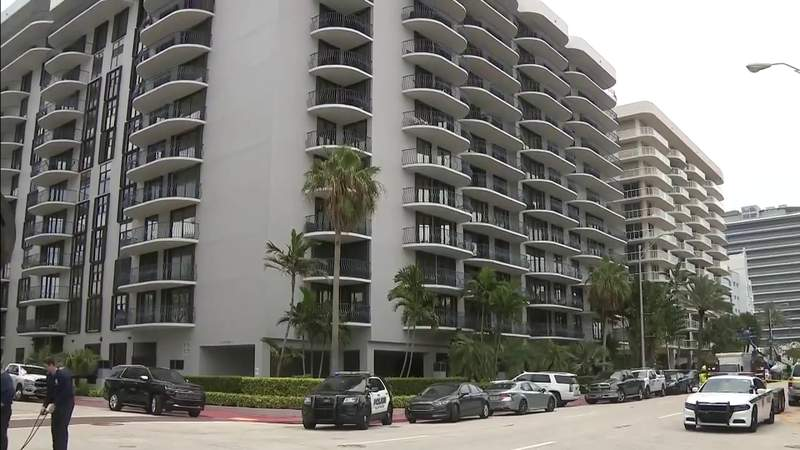 Engineers inspect Champlain Towers North in Surfside