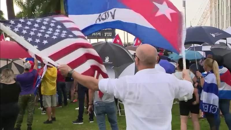 Tamiami Park's 'SOS Cuba' rally marks anniversary of 1994 tugboat massacre