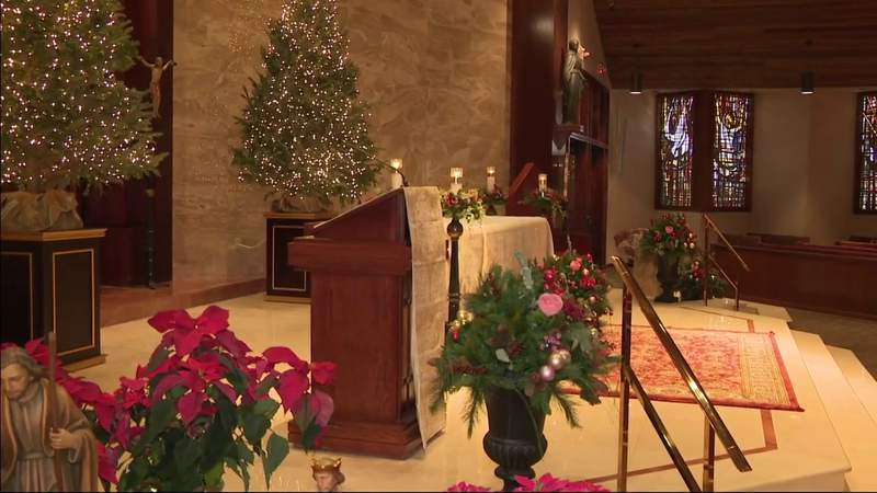 Christmas celebrations include smaller gatherings, drive-thru activities