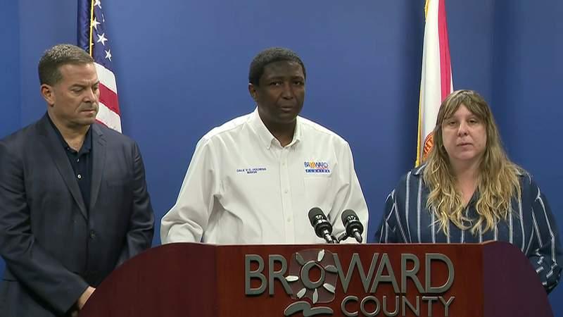 Broward officials hold media conference regarding presumptive coronavirus confirmed cases