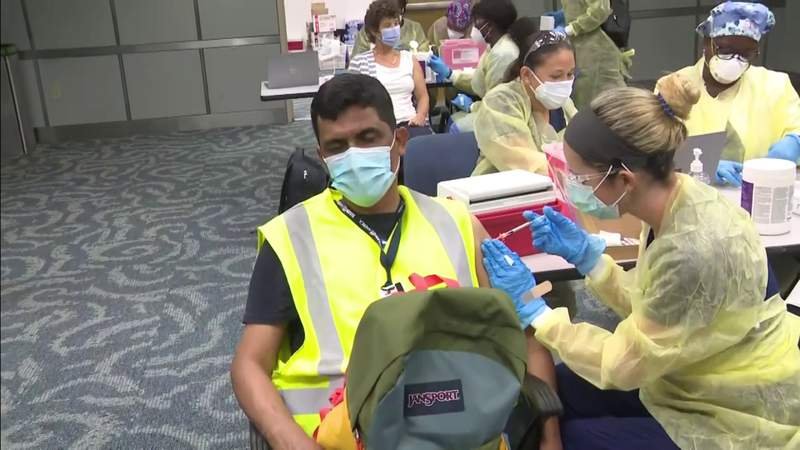 Miami airport begins offering COVID-19 vaccines