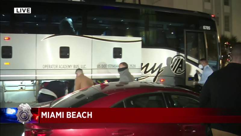 Miami Beach police send support to nation's capital