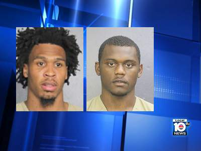 NFL players Quinton Dunbar and Deandre Lamar were booked into Broward County Jail Saturday.