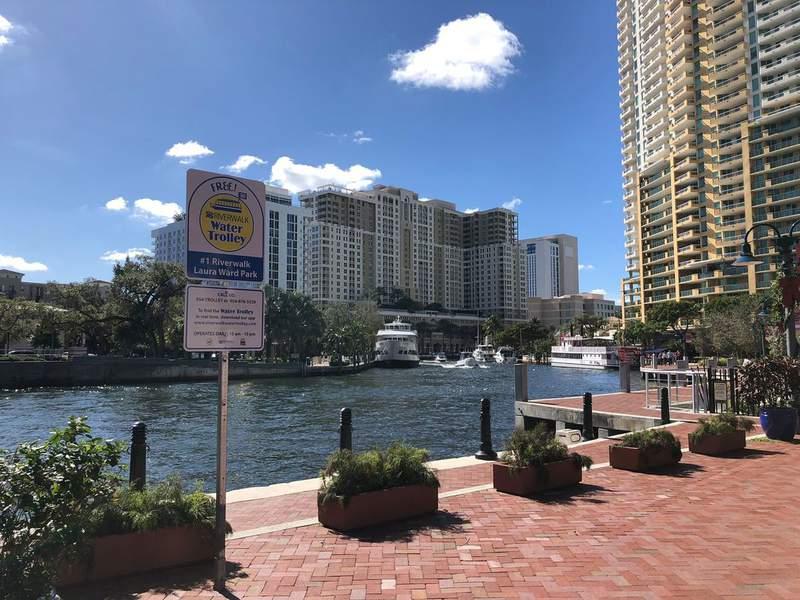 The Riverwalk Water Trolley has returned to Fort Lauderdale