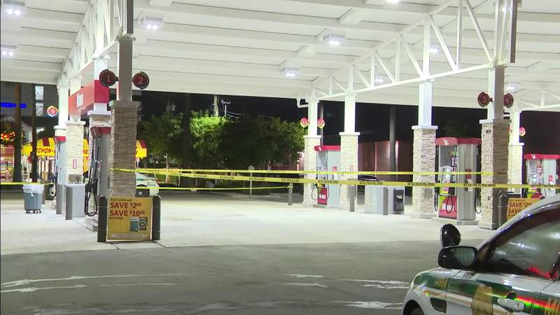 3 sought in connection with armed carjacking at gas station