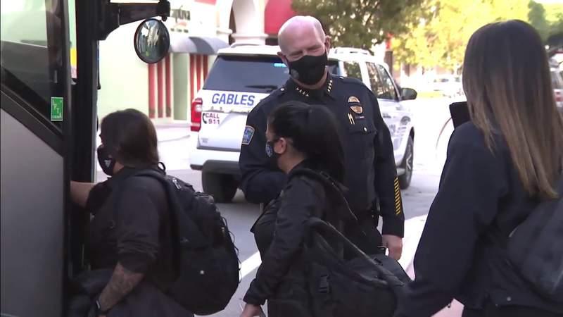 South Florida police travel to Washington to add inauguration security