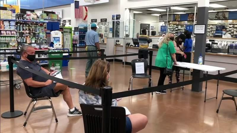 Walmart COVID-19 vaccinations underway in South Florida