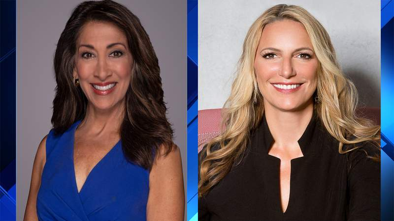Local 10 reporters Glenna Milberg (left) and Christina Vazquez are being honored for their public service reporting.