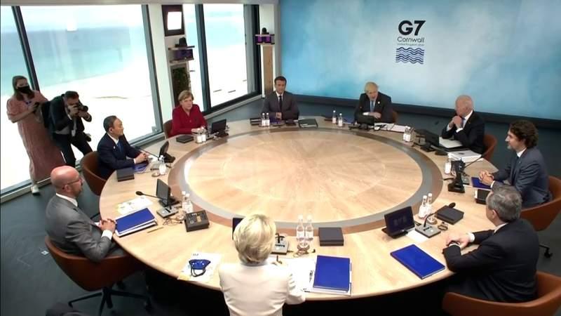 Biden sells G-7 on global tax, but U.S. Congress is a hurdle