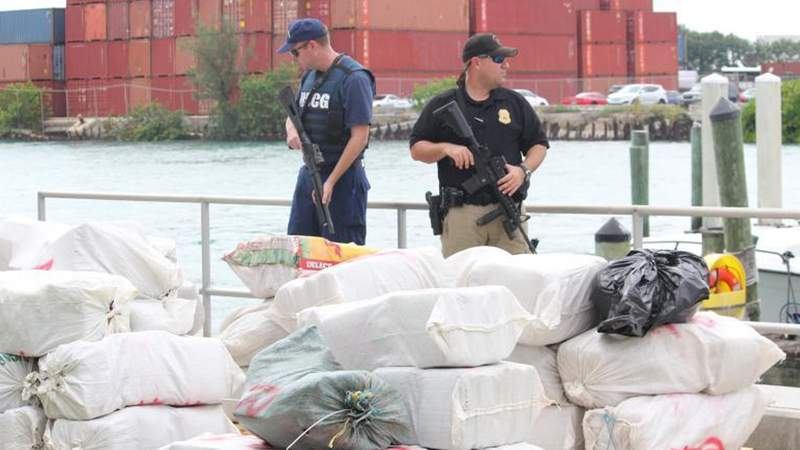CBP's Air and Marine Operations work to detect, deter, and interdict anyone who might be trying to smuggle something into the country.