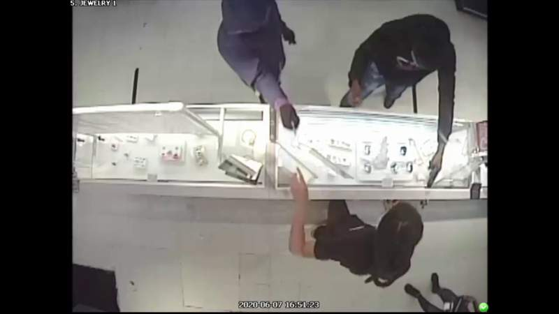Surveillance video captures armed robbery at Lauderdale Lakes pawn shop