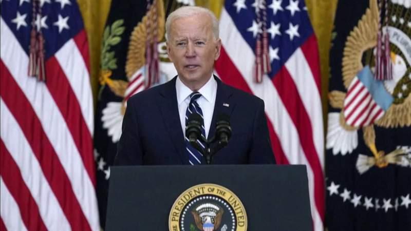 Biden declares U.S. is turning 'crisis into opportunity'