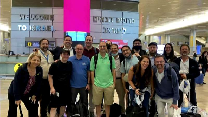 Local rabbis travel to Middle East for firsthand look at troubling situation