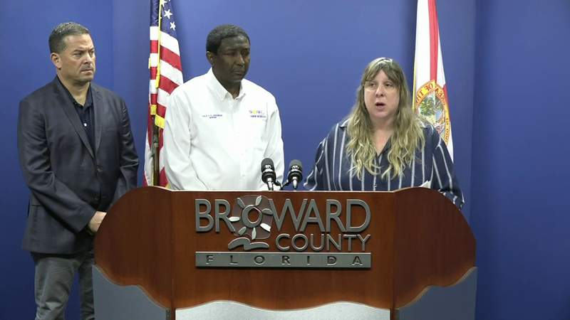 News conference held about 2 presumptive coronavirus cases in Broward County