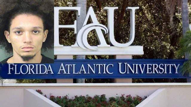 Rafael Decomas is accused of posting a threat to kill a Florida Atlantic University professor on Twitter.