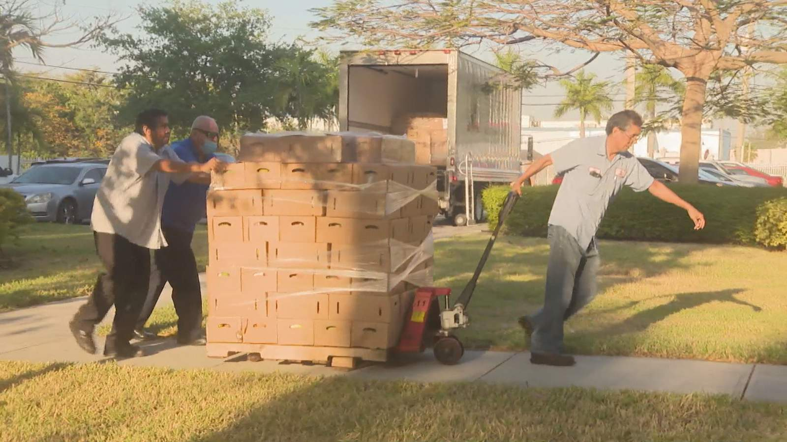 Food distributed to seniors, others in need amid coronavirus crisis