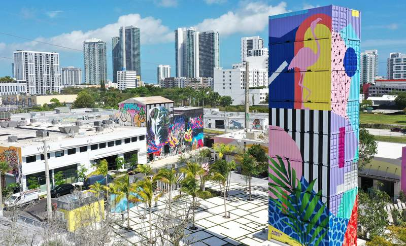 The Oasis in Wynwood will feature six food stalls, live music, bars, retail space, and more.