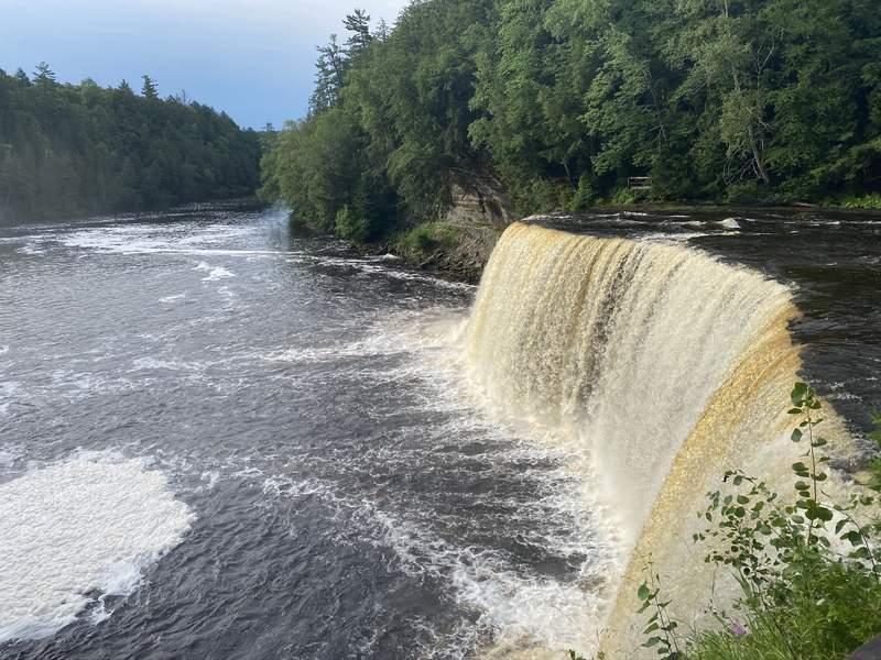 Tahquamenon Falls.