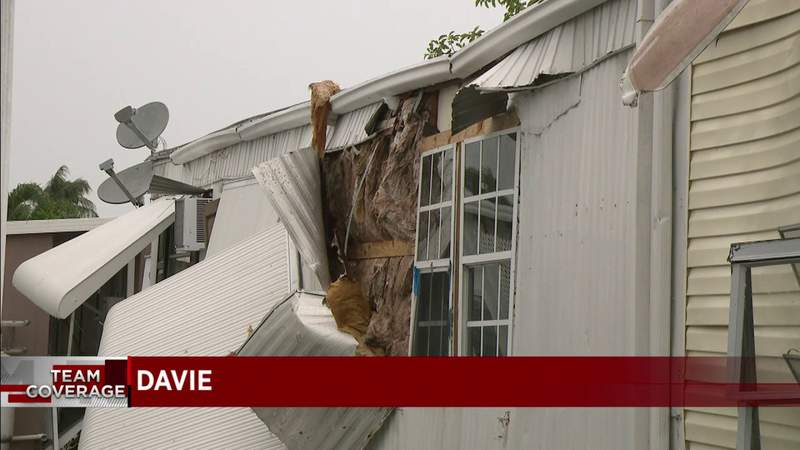 Storms rip through homes in Broward County