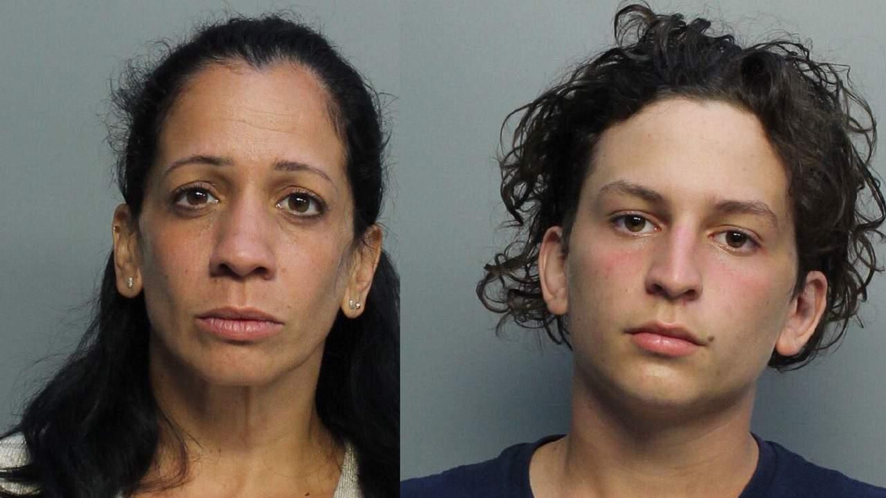 Yunet Enriquez, 39, and Jason Gonzalez, 18.
