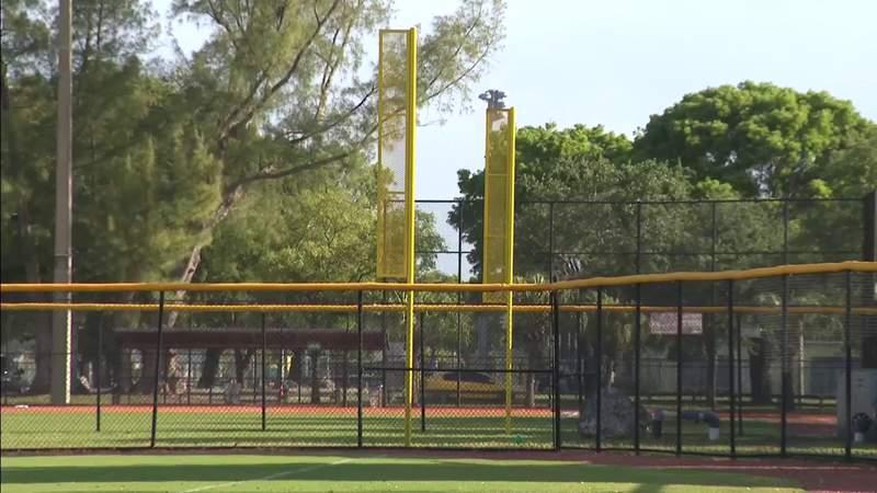 Tropical Park baseball, softball fields get upgrade from Miami Marlins
