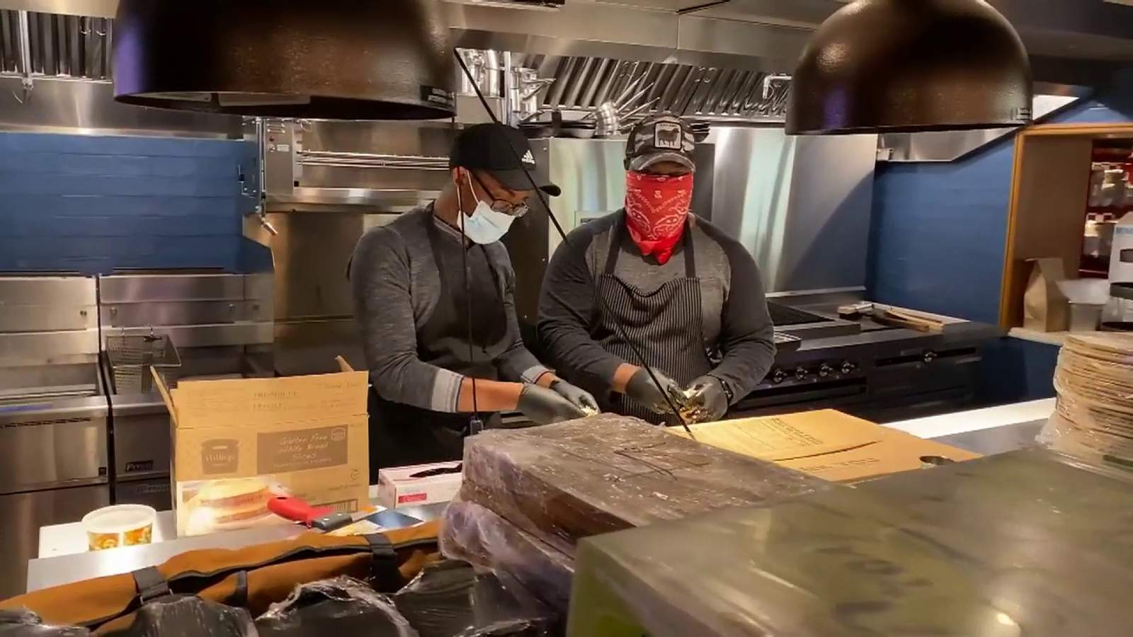 Red Rooster restaurant opening turns into food giveaway